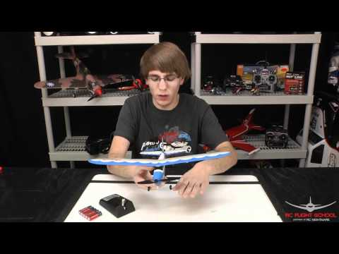 Flyzone Playmate RC Airplane Unboxing & First Review
