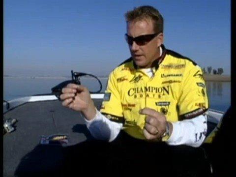 Bass Fishing Tips - Skeet Reese drop shot Video
