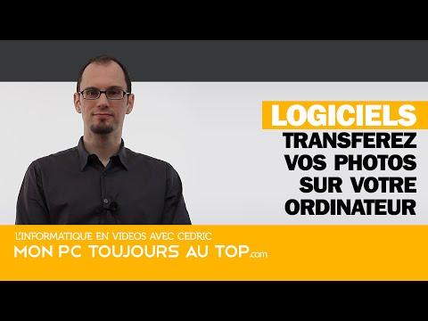 Transférer vos photos vers votre ordinateur
