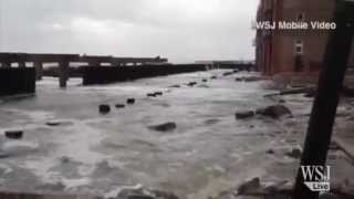 Superstorm Sandy Leaves Trail of Damage Near Atlantic City