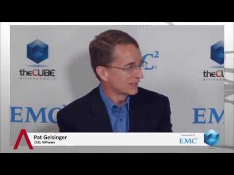 Pat Gelsinger - EMC World 2014 - theCUBE