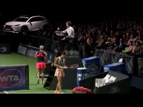 Kim Clijsters vs Andrea Petkovic | 2015 BNP Paribas Fortis Diamond Games