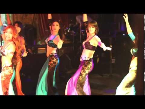 "Albi Hasis Fik"" Elissa (Fadi Bitar Clubmix EXT) bellydance troupe"
