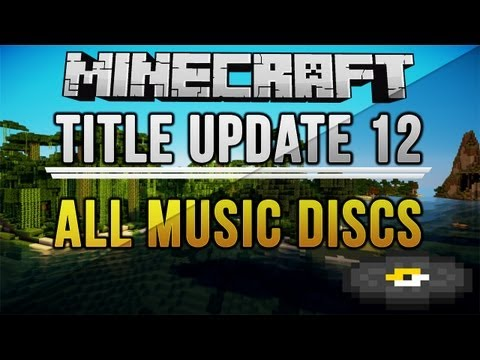 TU12 ALL MUSIC DISC LOCATIONS (Tutorial World)   Minecraft: Xbox 360/PS3