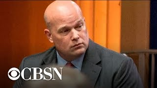 Acting Attorney General Matthew Whitaker meeting with ethics officials