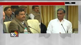 గడ్కరీ ప్రశంసించారు..| Minister Harish Rao at Press Meet | Delhi