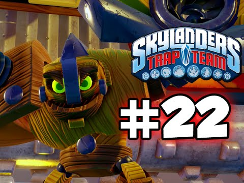 SKYLANDERS TRAP TEAM GAMEPLAY WALKTHROUGH - PART 22 -  KRANKENSTEIN!