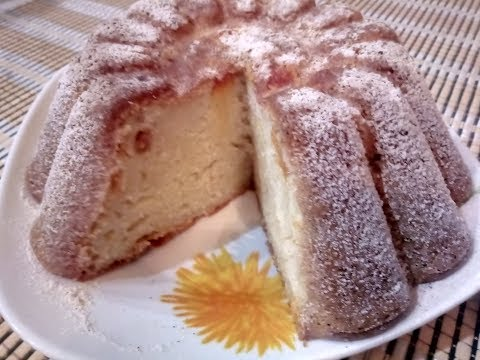 Быстрая и легкая ВКУСНЯШКА / Легкий кефирный пирог