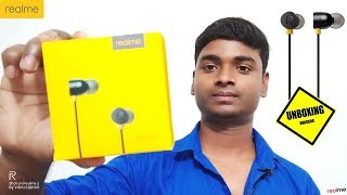 RealMe Earphone Unboxing with Review and Price