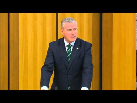 Michael McCormack praises 2014 Tumbatrek in Parliament
