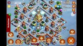 Samurai siege castle level 7 upgrades with battle 05 50