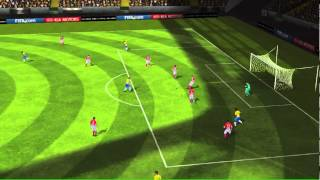 FIFA 14 iPhone/iPad - Brazil vs. Croatia