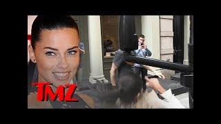 Adriana Lima Smacks Her Super Hot Head Into a Bar!! | TMZ