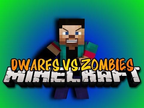 Minecraft: DWARFS VS ZOMBIES! w/NoahCraftFTW