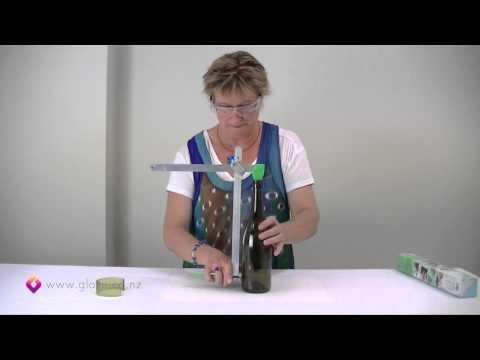 Glass Bottle Cutter - How to cut glass bottles Part 1