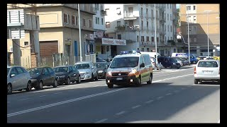 Automedica Croce Verde Ancona in Emergenza / Italian ALS Car in Emergency