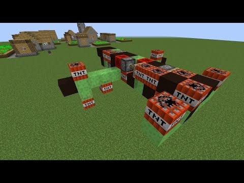 ШОК! Работающая ракета в Minecraft игнорирующая приват! [Minecraft механизмы]