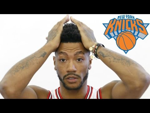 Derrick Rose Traded to the New York Knicks! Good Move?!