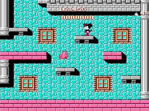 Mickey Mousecapade NES Review/Walkthrough Pt. 2 of 2