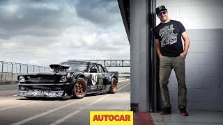 How to drift*, by Ken Block - shredding tyres in the 845bhp Hoonicorn Mustang