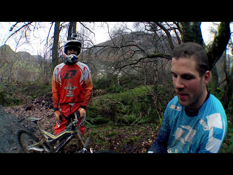 MTB Downhill Quarry Bombing - Four by Three