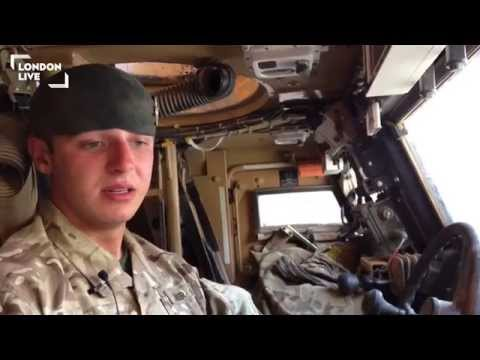 Rocket defence and tactical driving on the front line in Afghanistan