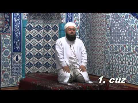 Fatih Medreseleri Masum Bayraktar Hoca Mukabele 1  Cüz