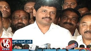 TRS Rajya Sabha Candidates Speaks After Winning Polls | V6 News