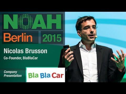 Nicolas Brusson, BlaBlaCar- NOAH15 Berlin