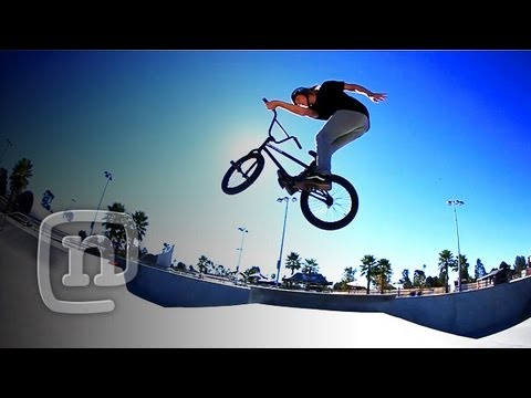 BMX Trick Tip! One Handed X-Up's With Ryan Nyquist & Ronnie Napoliton: Getting Awesome Ep. 13