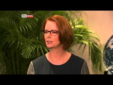 Julia Gillard says Tony Abbott will hurt Australian-China relations
