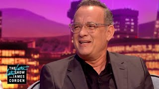 Tom Hanks Workshopped a Batman Voice for Woody - #LateLateLondon