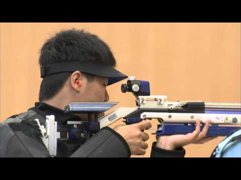 Men's 10m Air Rifle Shooting Final - Singapore 2010 Youth Games