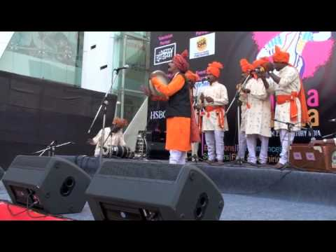 Rangrao Patil - Powada (ballad) From Maharashtra At Baajaa Gaajaa 2010 video