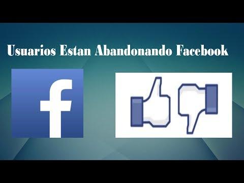 Usuarios Estan Abandonando Facebook después de los hallazgos...