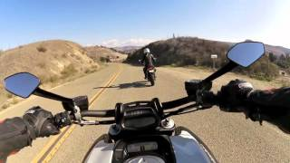 SF to Santa Barbara on a 2015 Honda Grom & Ducati Diavel Trip