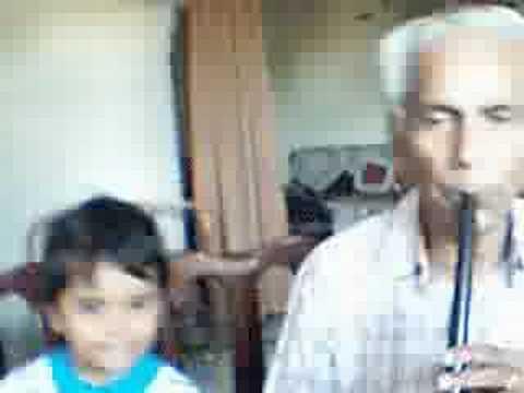 : Lakdi Ki Kathi- Masoom on Flute ..D K Sharma