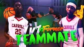 1v1 vs FORMER TEAMMATE 🏀🤞🏽(HE TOOK MY SPOT IN HIGH SCHOOL)  GETTING MY REVENGE!!!
