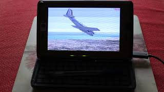 HTC Shift X9500 UMPC running Microsoft Flight Simulator X FSX