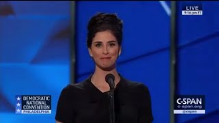 Sarah Silverman Democratic National Convention FULL Speech 7/25/16 DNC Philadelphia