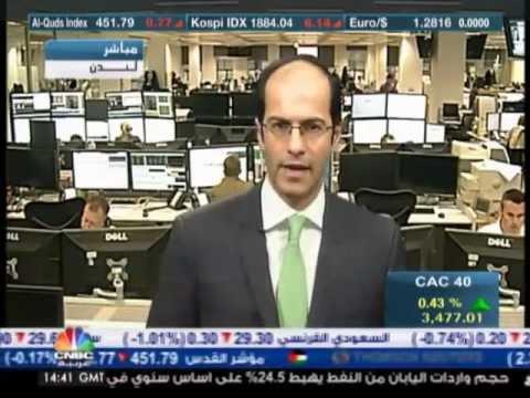أشرف العايدي على سي ان بي سي عربية -- 21 نوفمبر2012 Chart