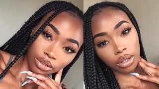 PROM MAKEUP: SIMPLE BRONZE GLAM | SPECIAL OCCASION MAKEUP TUTORIAL
