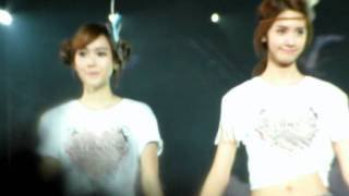 [fancam] 110910 Fantastic  Way to go  Ending(Yoonsica) @ SNSD asia tour(Taiwan) 少女時代二巡