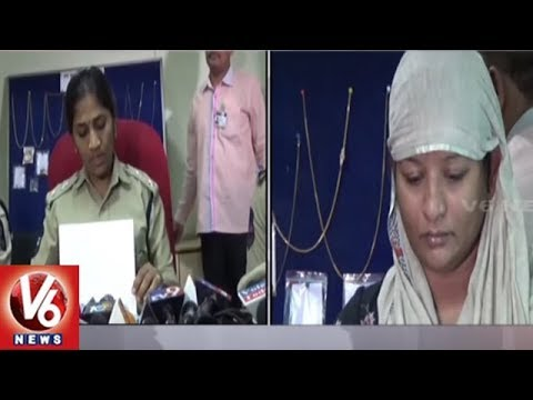 North Zone DCP Sumathi Arrested Inter-State Thief In Marredpally | V6 News