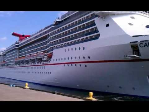 Carnival Legend leaving Port of Tampa