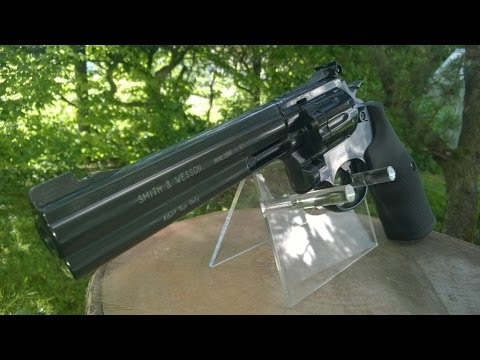 Smith & Wesson 586 Review / Test Co2 4.5mm Diabolo