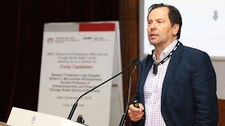 Public lecture on 'Crony Capitalism' by Prof. Luigi Zingales