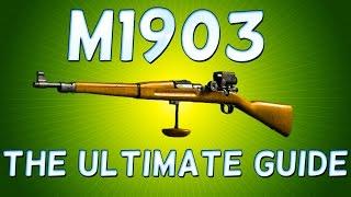 Battlefield 1 M1903 MARKSMAN! ULTRA Long Range SNIPER RIFLE!