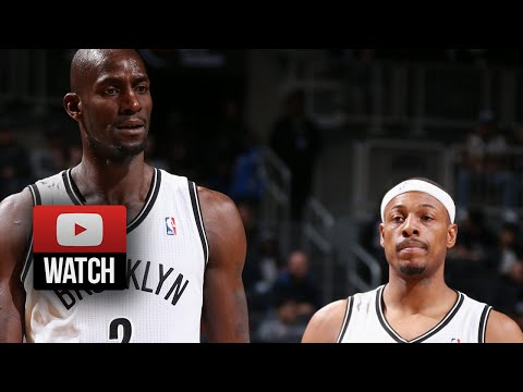 Kevin Garnett & Paul Pierce Full Highlights vs Celtics (2013.12.10)