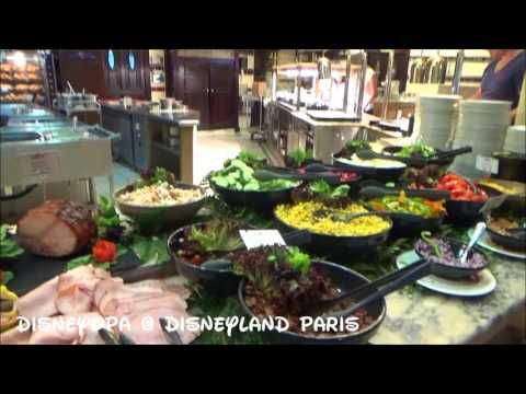 Disneyland Paris Plaza Gardens Restaurant 2017 DisneyOpa